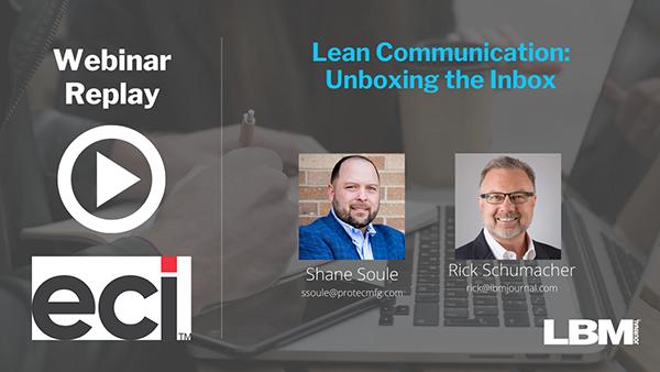 Lean Communication: Unboxing the Inbox