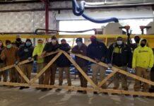 84 Lumber truss plant Richmond, Virginia